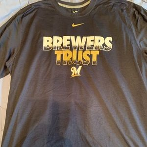 Nike Dri-Fit Milwaukee Brewers t-shirt xxl